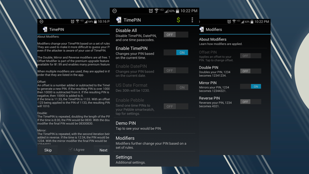 TimePIN Dynamically Changes Your Android Lock Screen PIN Code